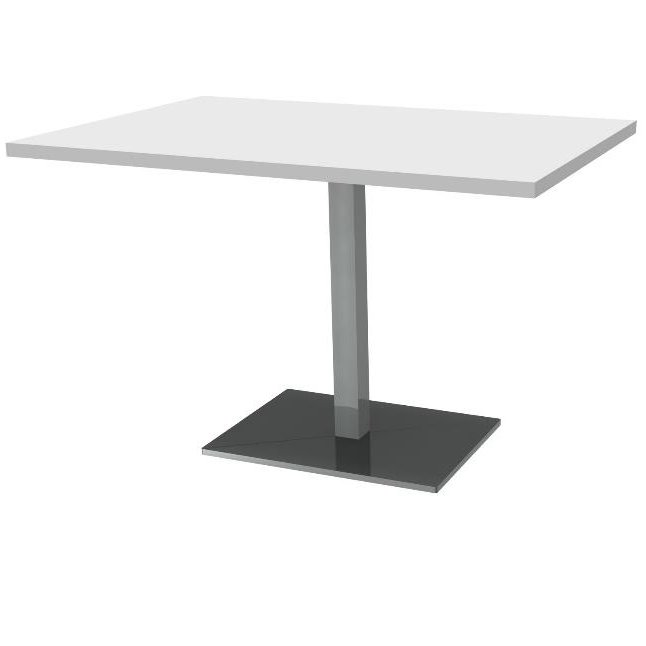 Table rectangulaire120x80 f t central carr ref table for Table 120x80