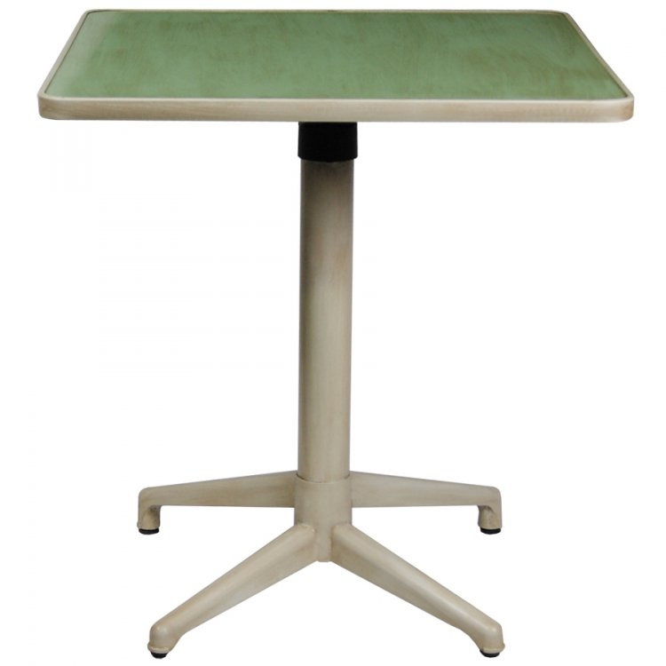 TABLE CLICK 900X900MM PLATEAU EN COMPACT RABATTABLE  - TABLE CLICK - COMPACT 900X900