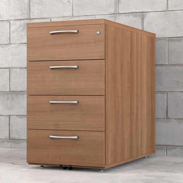 caisson hauteur bureau r3 4 tiroirs ref rh bmi4 rangement maison de retraite ehpad. Black Bedroom Furniture Sets. Home Design Ideas