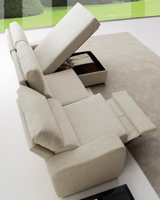 Canape relax 2 places bristol ref dombristol2p canap for Canape hauteur assise 60